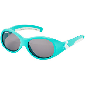 UVEX Sportstyle 510 Glasses Kids, turquoise white/smoke